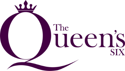 The Queen's Six header logo